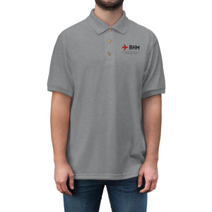 Fly BHM Men's Jersey Polo Shirt