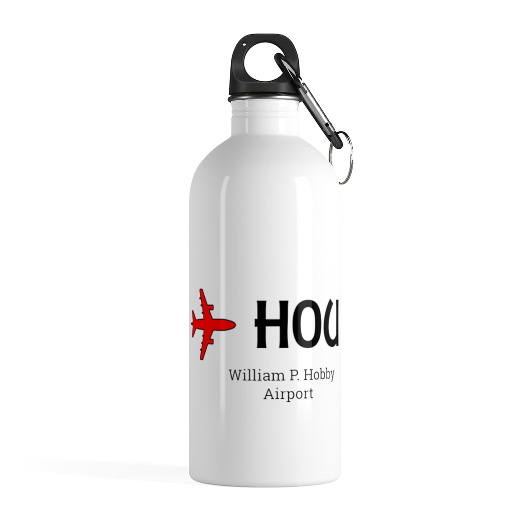 Fly HOU Stainless Steel Water Bottle