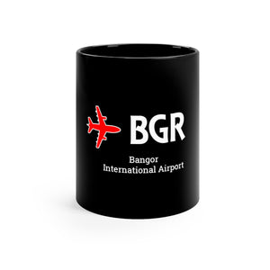 Fly BGR Black mug 11oz