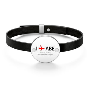 I Fly ABE Leather Bracelet