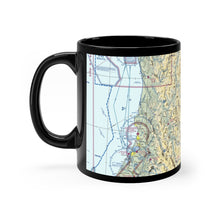 Load image into Gallery viewer, ACV Sectional Black mug 11oz
