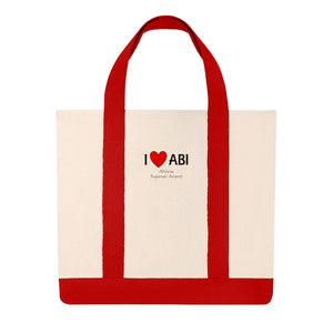 ABI Heart Shopping Tote