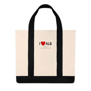 ALB Heart Shopping Tote