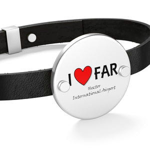 FAR Heart Leather Bracelet
