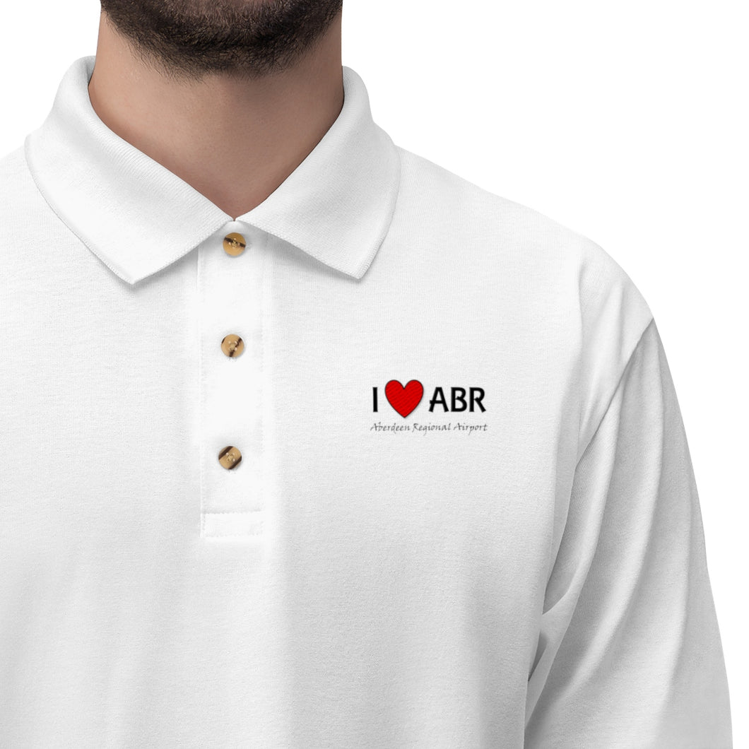 ABR Heart Men's Jersey Polo Shirt