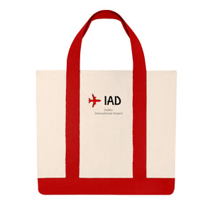 Fly IAD Shopping Tote