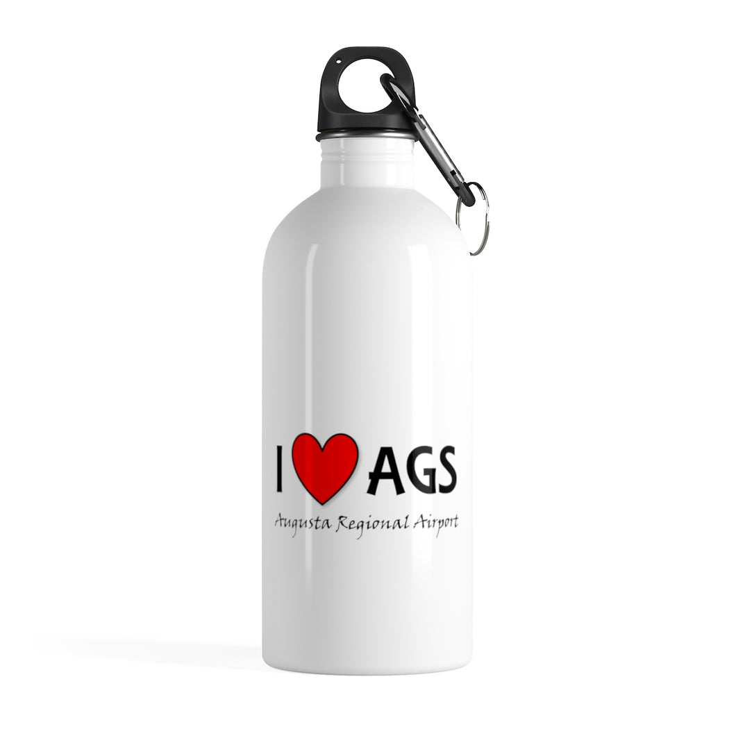 AGS Heart Stainless Steel Water Bottle