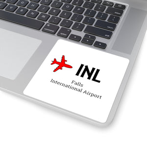 Fly INL Square Stickers