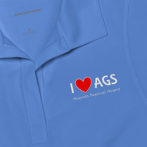 AGS Heart Women's Polo Shirt