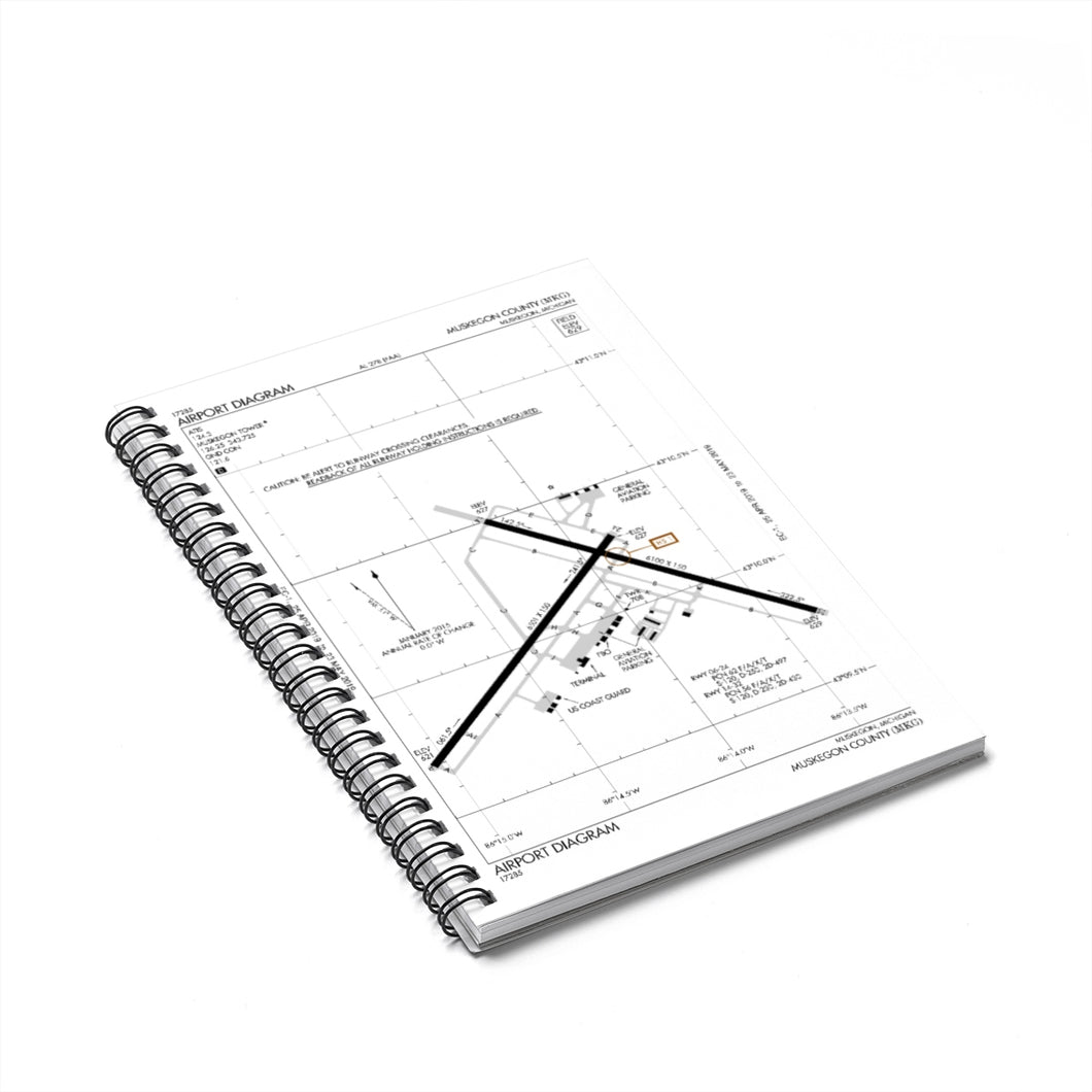 MKG Spiral Notebook - Ruled Line