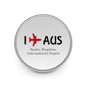 I Fly AUS Metal Pin