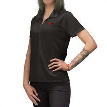 Load image into Gallery viewer, ABQ Heart Women's Polo Shirt