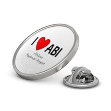 Load image into Gallery viewer, ABI Heart Metal Pin