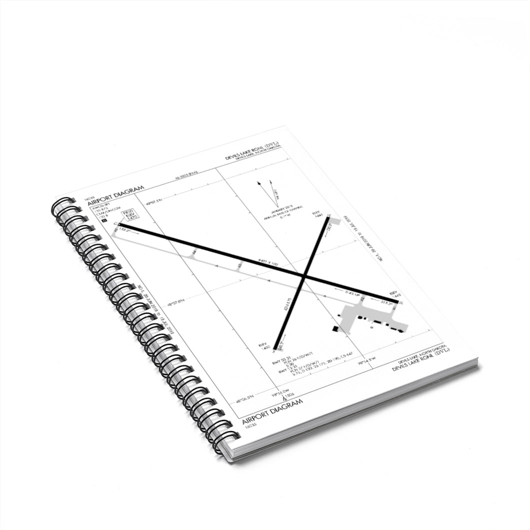 DVL Spiral Notebook - Ruled Line