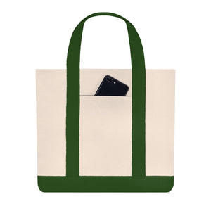 PDX Heart Shopping Tote