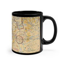 Load image into Gallery viewer, ABQ Sectional Black mug 11oz