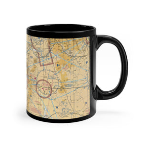 ABQ Sectional Black mug 11oz
