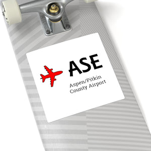 Fly ASE Square Stickers