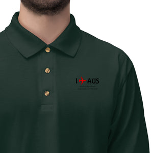 I Fly AUS Men's Jersey Polo Shirt