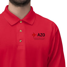 Load image into Gallery viewer, Fly AZO Men's Jersey Polo Shirt