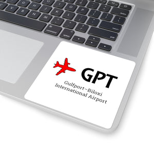 Fly GPT Square Stickers
