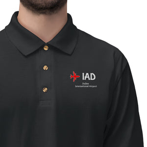Fly IAD Men's Jersey Polo Shirt