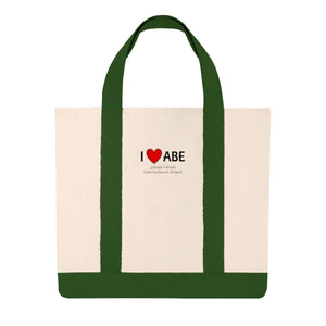 ABE Heart Shopping Tote