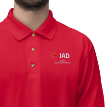 Load image into Gallery viewer, Fly IAD Men's Jersey Polo Shirt