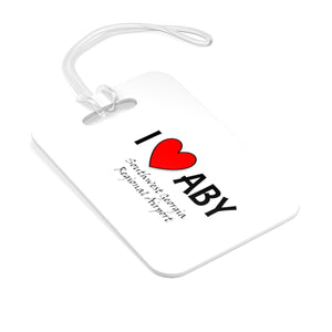 ABY Heart Bag Tag