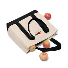 Load image into Gallery viewer, ABE Heart Shopping Tote