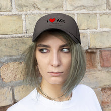 Load image into Gallery viewer, ACK Heart Unisex Twill Hat