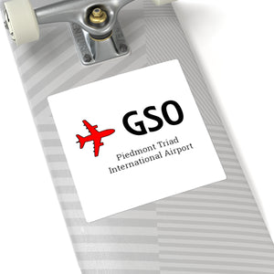Fly GSO Square Stickers
