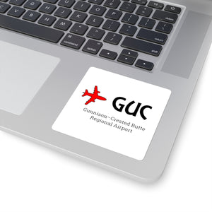 Fly GUC Square Stickers