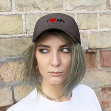 Load image into Gallery viewer, ABE Heart Unisex Twill Hat