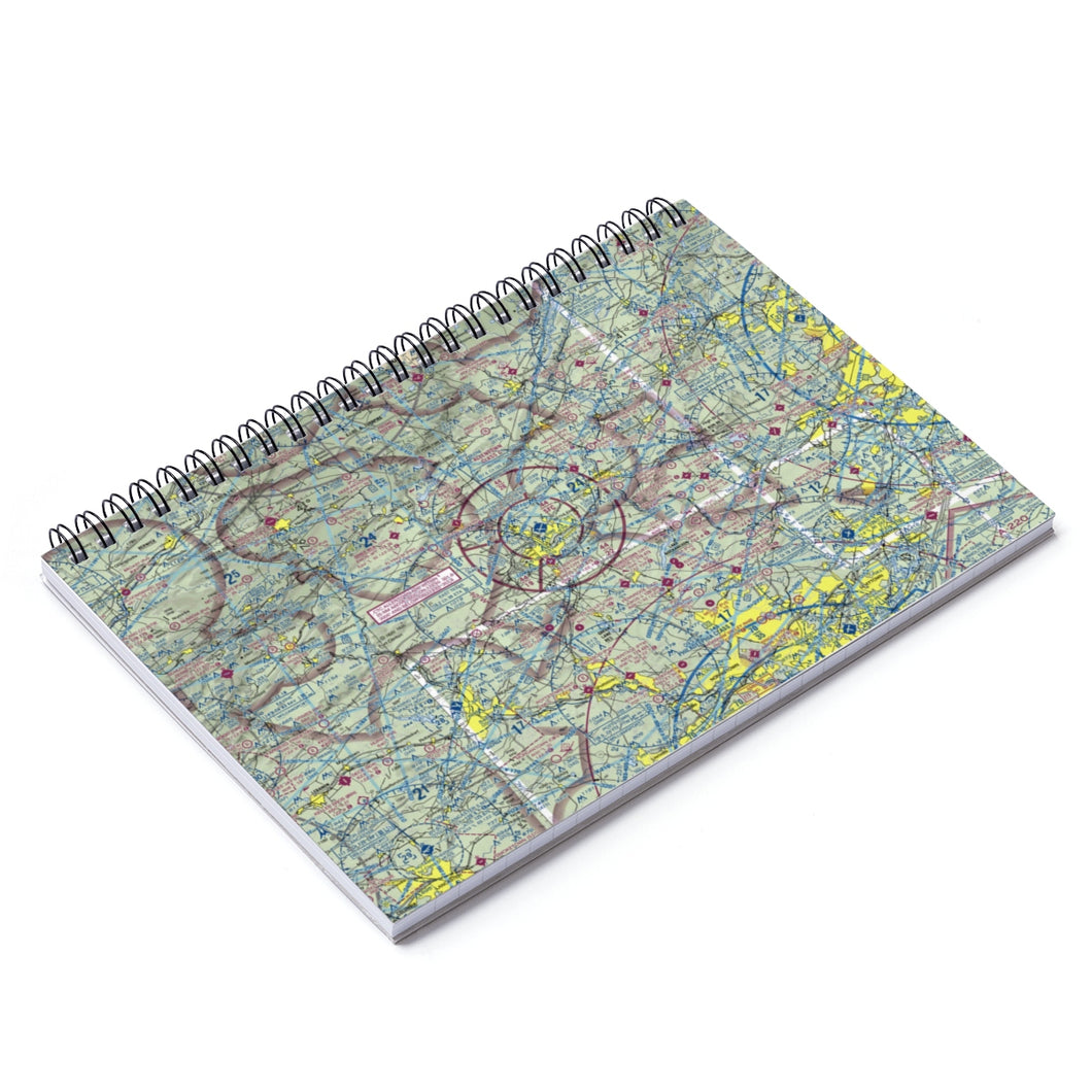 ABE Sectional Spiral Notebook - Ruled Line