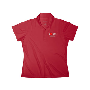 ACY Heart Women's Polo Shirt