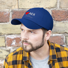 Load image into Gallery viewer, AEX Heart Unisex Twill Hat