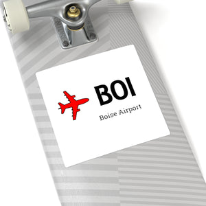 Fly BOI Square Stickers
