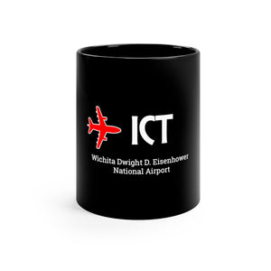 Fly ICT Black mug 11oz