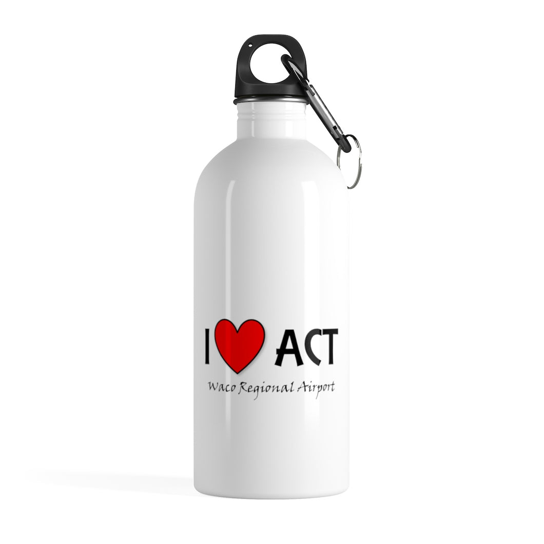 ACT Heart Stainless Steel Water Bottle