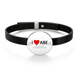ABE Heart Leather Bracelet