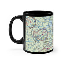 Load image into Gallery viewer, AGS Sectional Black mug 11oz