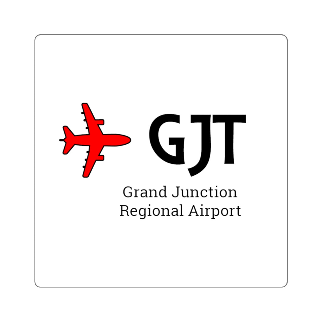 Fly GJT Square Stickers