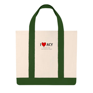 ACY Heart Shopping Tote