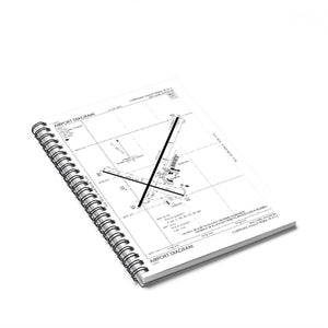 EAU Spiral Notebook - Ruled Line