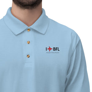I Fly BFL Men's Jersey Polo Shirt