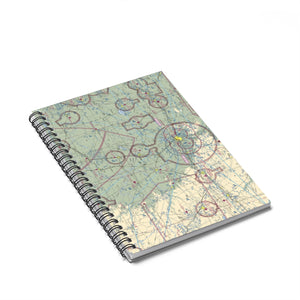 ABI Sectional Spiral Notebook - Ruled Line