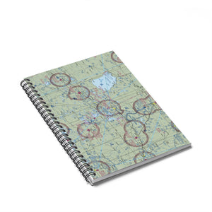 BRD Sectional Spiral Notebook - Ruled Line