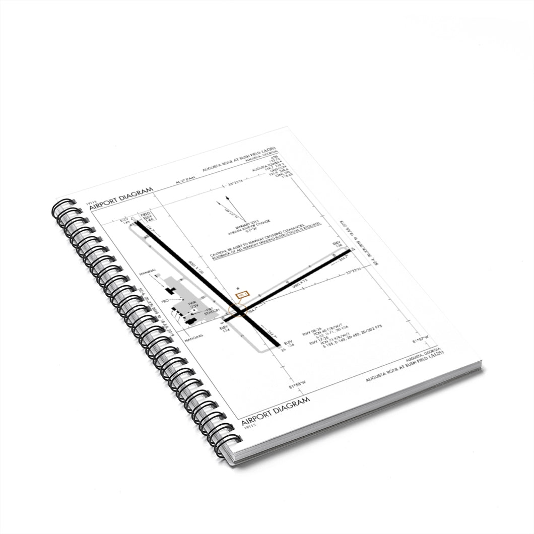 AGS Spiral Notebook - Ruled Line