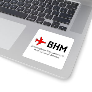 Fly BHM Square Stickers